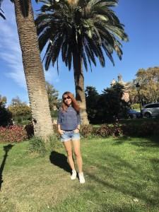 Зелёные пальмы в ноябре