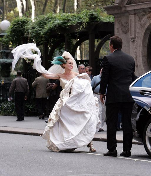 Свадьба Кэри Брэдшоу и Мистера Бига